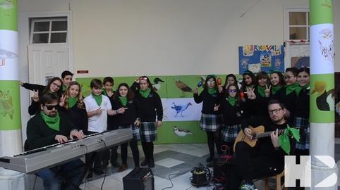 Colegio Compania de Maria de Sanlucar. Himno reggae de Andalucia #28f