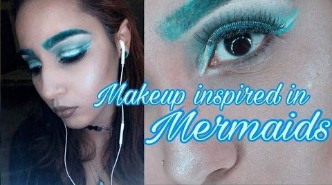 Cut Crease inspired in mermaid | #ITSJAMIELEE ##FashionTip