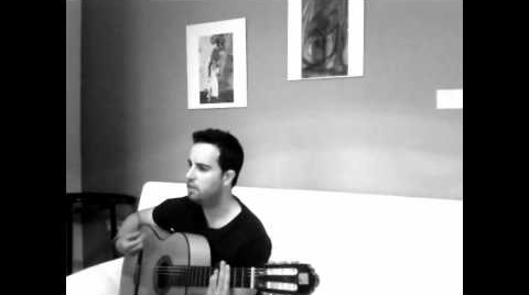 """En mi cabeza"" de Sergio Baraza (versión acústica, sonido directo)"""